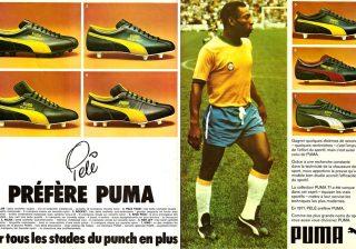 Pele Prefers Puma's Magazine Ad